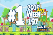 Angry Birds Friends 2016 Tournament Level 1 Week 197 Walkthrough