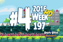Angry Birds Friends 2016 Tournament Level 4 Week 197 Walkthrough