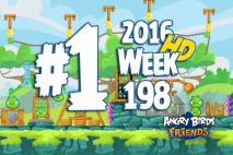 Angry Birds Friends 2016 Tournament Level 1 Week 198 Walkthrough