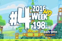 Angry Birds Friends 2016 Tournament Level 4 Week 198 Walkthrough