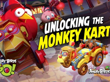 Angry Birds GO Monkey Kart Chinese New Year - 1920x1080