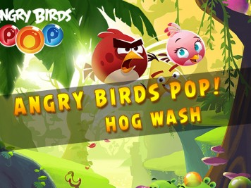 Angry Birds Pop Update Hog Wash Feature Image