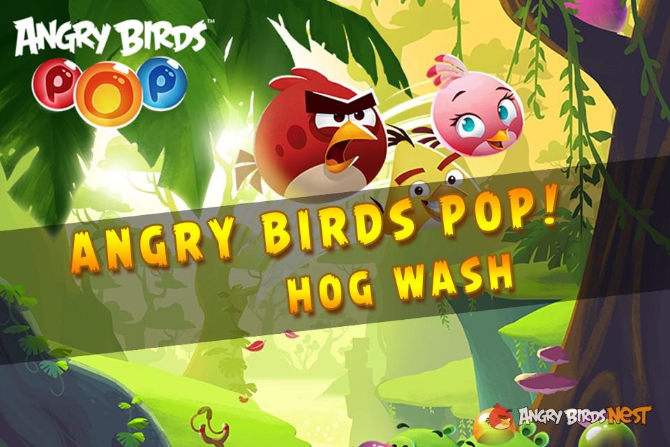 Angry Birds Stella Pop! Hog Wash