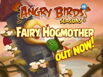 Angry Birds Seasons Fairy Hogmother Feature Image