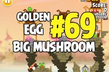 Angry Birds Seasons Fairy Hogmother Big Mushroom Golden Egg #69 Walkthrough