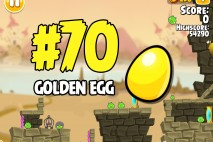Angry Birds Seasons Fairy Hogmother Golden Egg #70 Walkthrough