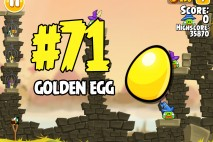 Angry Birds Seasons Fairy Hogmother Golden Egg #71 Walkthrough