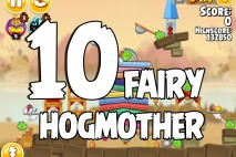 Angry Birds Seasons Fairy Hogmother Level 1-10 Walkthrough