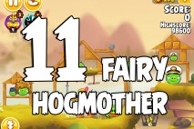 Angry Birds Seasons Fairy Hogmother Level 1-11 Walkthrough