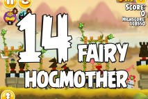 Angry Birds Seasons Fairy Hogmother Level 1-14 Walkthrough