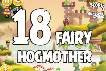 Angry Birds Seasons Fairy Hogmother Level 1-18 Walkthrough
