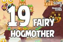 Angry Birds Seasons Fairy Hogmother Level 1-19 Walkthrough