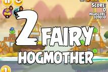 Angry Birds Seasons Fairy Hogmother Level 1-2 Walkthrough