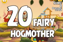 Angry Birds Seasons Fairy Hogmother Level 1-20 Walkthrough