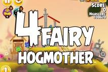 Angry Birds Seasons Fairy Hogmother Level 1-4 Walkthrough