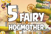 Angry Birds Seasons Fairy Hogmother Level 1-5 Walkthrough