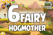 Angry Birds Seasons Fairy Hogmother Level 1-6 Walkthrough