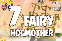 Angry Birds Seasons Fairy Hogmother Level 1-7 Walkthrough
