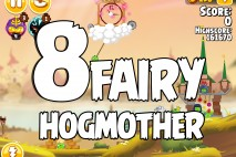 Angry Birds Seasons Fairy Hogmother Level 1-8 Walkthrough