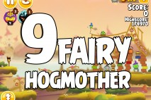 Angry Birds Seasons Fairy Hogmother Level 1-9 Walkthrough