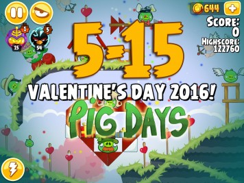 Angry Birds Seasons Pig Days Chapter 5 Level 5-15