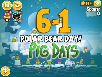 Angry Birds Seasons Pig Days Chapter 6 Level 6-1