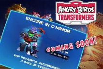 "Angry Birds Transformers Challenge ""Encore in C-Minor"" Coming Soon!"