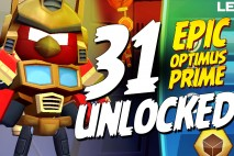 Let's Play Angry Birds Transformers | Part 31 | Epic Optimus Prime