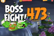 Angry Birds 2 Boss Fight Level 473  Walkthrough – Cobalt Plateaus Pig Bay