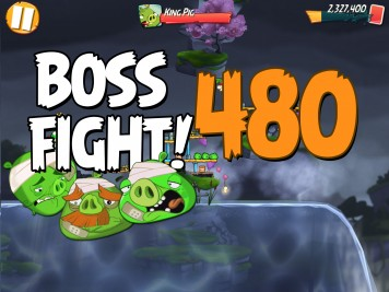 Angry Birds 2 Boss Fight Level 480