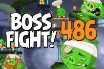 Angry Birds 2 Boss Fight Level 486  Walkthrough – Cobalt Plateaus Pig Bay