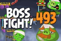 Angry Birds 2 Boss Fight Level 493  Walkthrough – Cobalt Plateaus Pig Bay