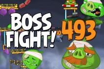 Angry Birds 2 Boss Fight Level 493  Walkthrough – Cobalt Plateaus Pig Bay