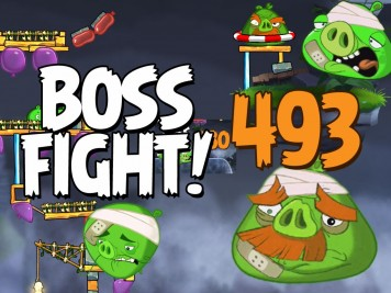 Angry Birds 2 Boss Fight Level 493