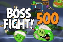 Angry Birds 2 Boss Fight Level 500  Walkthrough – Cobalt Plateaus Pig Bay