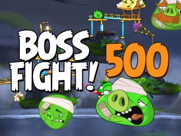 Angry Birds 2 Boss Fight Level 500