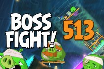 Angry Birds 2 Boss Fight Level 513 Walkthrough – Bamboo Forest Gravity Grove