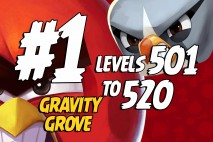Angry Birds 2 Levels 501 to 520 Gravity Grove 3-Star Walkthrough – Bamboo Forest