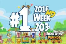 Angry Birds Friends 2016 Tournament Level 1 Week 203 Walkthrough