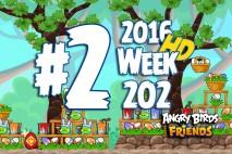 Angry Birds Friends 2016 Tournament Level 2 Week 202 Walkthrough