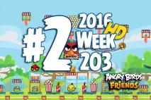 Angry Birds Friends 2016 Tournament Level 2 Week 203 Walkthrough