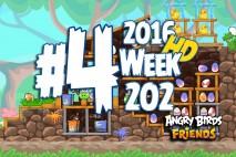 Angry Birds Friends 2016 Tournament Level 4 Week 202 Walkthrough