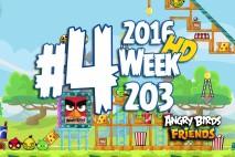 Angry Birds Friends 2016 Tournament Level 4 Week 203 Walkthrough