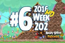 Angry Birds Friends 2016 Tournament Level 6 Week 202 Walkthrough