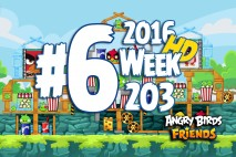 Angry Birds Friends 2016 Tournament Level 6 Week 203 Walkthrough
