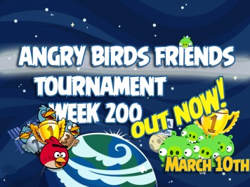 Angry Birds Friends Tournament Week 200 Feature Image