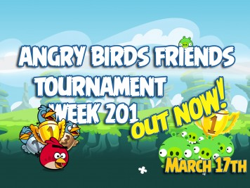 Angry Birds Friends Tournament Week 201 Feature Image