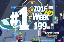 Angry Birds Friends 2016 Space Tournament Level 1 Week 199 Walkthrough