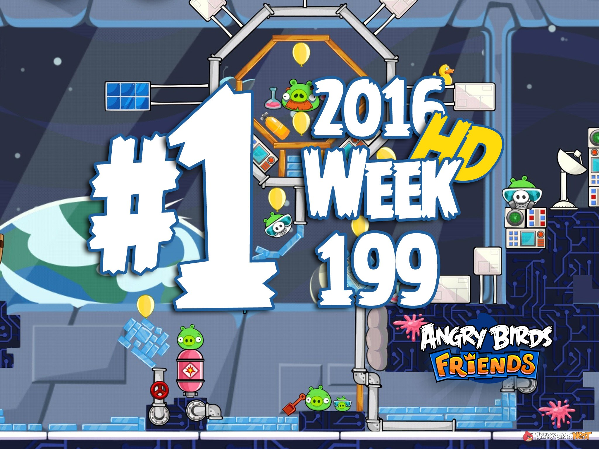 angry birds friends level 1
