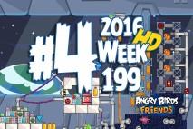 Angry Birds Friends 2016 Space Tournament Level 4 Week 199 Walkthrough